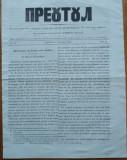 Ziarul religios , Preotul , foaie saptamanala , nr. 14 , 1862 , chirilica