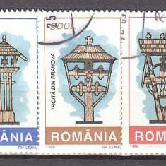 Romania.1998.Troite RO98.1451 - Timbre Romania, Stampilat