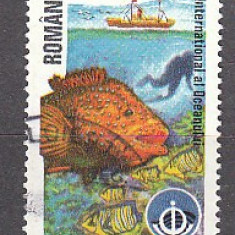 Romania.1998.Anul International al Oceanului RO98.1464 - Timbre Romania, Stampilat