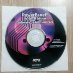POWER PANEL - Software de Administrare UPS + Manual utilizare - Solutii business, Windows 7, CD, Altul