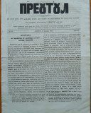 Ziarul religios , Preotul , foaie saptamanala , nr. 21 , 1862 , chirilica