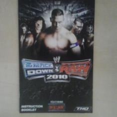Manual - Smack Down vs Raw 2010 - Playstation PS2 ( GameLand )