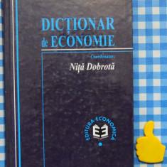 Dictionar de Economie Nita Drobota - Carte Economie Politica