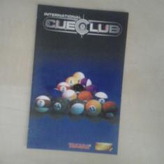 Manual - International Cue Club - Playstation PS2 ( GameLand )