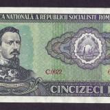 ROMANIA 50 LEI 1966 [25] P-96a, XF+ - Bancnota romaneasca