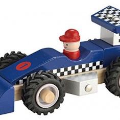 Masina de curse din lemn, New Classic Toys - Masinuta