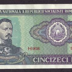ROMANIA 50 LEI 1966 [22] P-96a, XF+ - Bancnota romaneasca