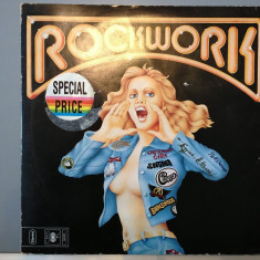 ROCK WORK 2LP SET cu:Kansas, Santana, Aerosmith..etc (1975/ CBS Rec/ RFG) - Vinil - Muzica Rock Columbia