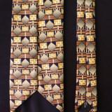 Cravata Rapp; 148 cm lungime; impecabila, ca noua