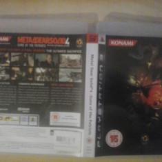 Metal Gear Solid 4 - Joc PS3 - Playstation 3 - GameLand - Jocuri PS3, Actiune, 18+, Single player