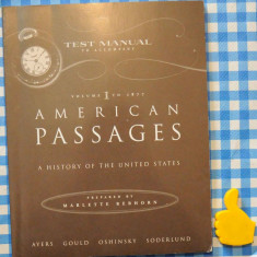 American Passages A History of The United States - Certificare