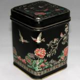 Cutie ceai japoneza pictata manual