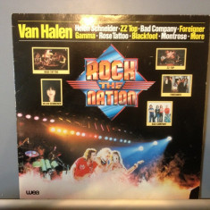 ROCK the NATION : Van Halen, ZZ Top, etc..(1981/Warner Rec/RFG) - Vinil/Vinyl/Rock - Muzica Rock