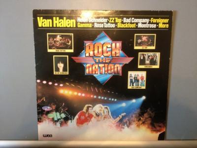 ROCK the NATION : Van Halen,ZZ Top,etc..(1981/Warner Rec/RFG) - Vinil/Vinyl/Rock foto