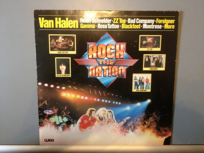 ROCK the NATION : Van Halen,ZZ Top,etc..(1981/Warner Rec/RFG) - Vinil/Vinyl/Rock