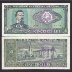 ROMANIA 50 LEI 1966 [03] P-96a, XF+++ - Bancnota romaneasca