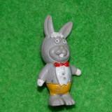 Figurina, jucarie, iepure, iepuras din desene animate, cauciu, anii '80, 4 cm - Figurina Desene animate