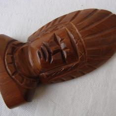Sculptura in lemn de esenta exotica, America Latina
