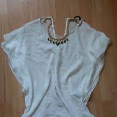 Camasa Zara - Camasa dama Zara, Marime: 32, Culoare: Alb, Maneca scurta, Casual