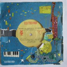 VINIL SINGLE MELODII DIN FESTIVALUL SAN-REMO, ORCH.AL.IMRE VOCE MARIA GATTI EDC 10 004 - Muzica Pop electrecord