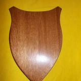 PANOPLIE PENTRU TROFEU DE VANATOARE PESCUIT ,ETC ,  IMPECABILA LEMN DE CALITATE FINISAT LACUIT !