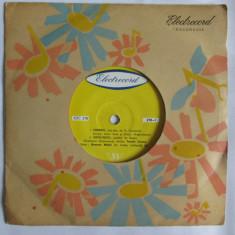 VINIL SINGLE TRIO GRIGORIU SI ROXANA MATEI ARANJ.ALEX IMRE 1962 EDC 278 - Muzica Pop electrecord