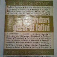 SCRIITORI GRECI SI LATINI - N. I. BARBU * ADELINA PIATKOWSKI ( coord. ) ( 264 )