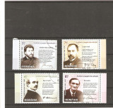 Romania-LP 2051 Mari scriitori romani-serie stampilata 181
