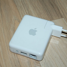 APPLE AIRPORT EXPRESS BASE STATION MODEL A1088 - Router wireless Apple, Port USB, Porturi LAN: 1