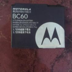 ACUMULATOR MOTOROLA C261,COD BC60 BATERIE ORIGINALA, Alt model telefon Motorola, Li-ion