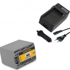 1 PATONA | Incarcator + Acumulator pt Sony NP FP90 NP FP70 NPFP90 HC85 HC30 - Incarcator Aparat Foto
