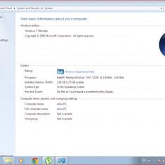 Laptop Asus, Intel Pentium Dual Core, 2 GB, Windows 7