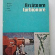 ARZATOARE TURBIONARE - L. MIHAESCU * E. D. CRISTEA * N. PANOIU * I. GANEA * CR. TOTOLO ( 282 ) - Carti Industrie alimentara