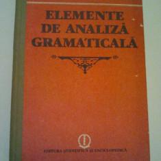 ELEMENTE DE ANALIZA GRAMATICALA - G. G. NEAMTU ( 257 ) - Certificare