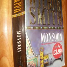MONSOON - WILBUR SMITH - 2000 - CARTE IN LIMBA ENGLEZA - Carte in engleza