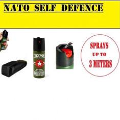 Spray Paralizant. NATO-CS + HUSA Cadou. Spray Autoaparare 60 ML. Made In Germany