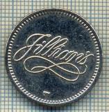 JETON 202 PENTRU COLECTIONARI - JILLIAN'S (SAN FRANCISCO -SUA - BILIARD -ENTERTEINMENT- RESTAURANT) - STAREA CARE SE VEDE