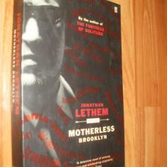 MOTHERLESS BROOKLYN - JONATHAN LETHEM - 2000 - CARTE IN LIMBA ENGLEZA - Carte in engleza