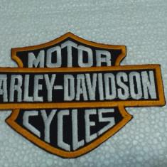 Patch Broderie Harley Davison