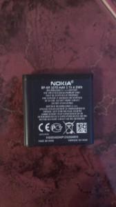 ACUMULATOR  NOKIA N93 cod BP-6M NOU