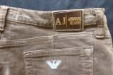 Blugi Armani Jeans, Comfort Fit, Eco Wash, Made in Italy; marime 30, vezi dim.