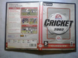 Joc PC - Cricket 2002 ( EA Sports ) - (GameLand - sute de jocuri), Sporturi, 3+