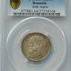 Romania 1 leu 1906, PCGS, MS64 - Moneda Romania