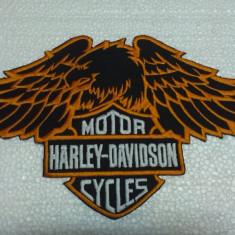 Patch Harley Davison Eagle Orange