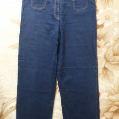 Blugi H&M; marime 44: 85 cm talie, 103 cm lungime, 72 cm crac; impecabili - Blugi dama, Culoare: Din imagine