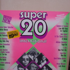 Disc Vinil - Super 20 International - Muzica Pop