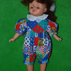 Papusa fetita cu par lung, cu stanta Lucky bell 1989;