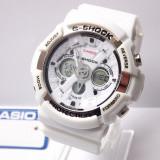 Ceas sport CASIO G SHOCK Ga200 white (Poze relae, Garantie) - Ceas barbatesc