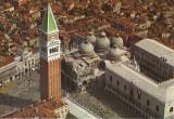 Carte postala IT007 Italia - Venezia - Piazza San Marco (Aerea) -  necirculata [5]