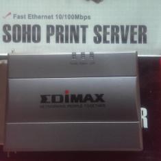 1 Port Parallel Soho Print Server Edimax PS-1206P 10/100